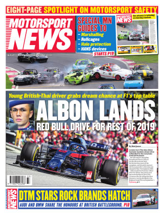 Motorsport News 14th August 2019