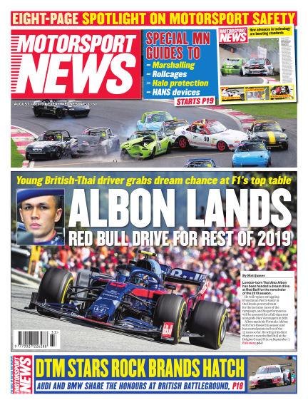 Motorsport News August 14, 2019 00:00