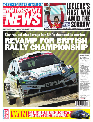 Motorsport News 4th September 2019