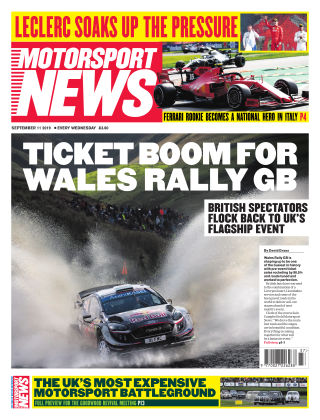 Motorsport News 11th September 2019