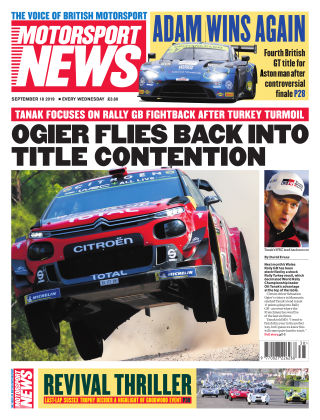 Motorsport News 18th September 2019