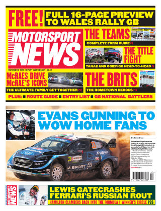 Motorsport News 2nd October 2019