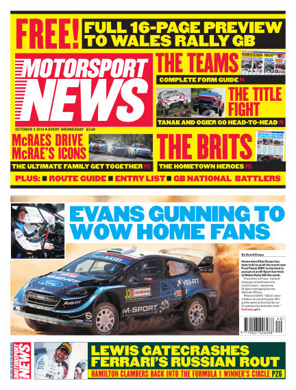 Motorsport News October 02, 2019 00:00