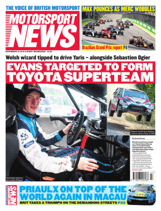 Motorsport News 20th November 2019