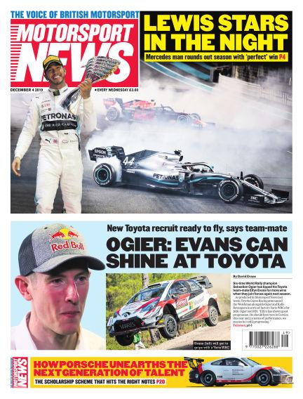 Motorsport News December 04, 2019 00:00