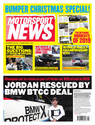 Motorsport News 18th December 2019