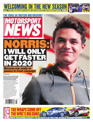 Motorsport News 15th January 2020