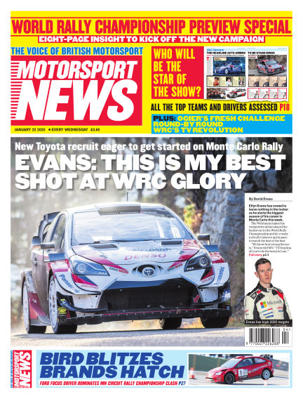 Motorsport News January 22, 2020 00:00