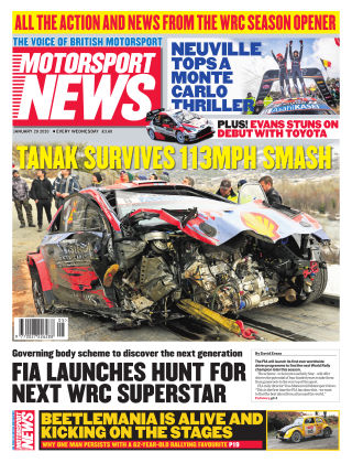 Motorsport News 29th January 2020