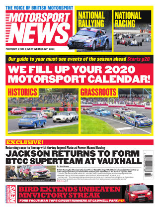 Motorsport News 5th February 2020