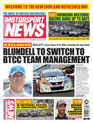 Motorsport News 12 February 2020