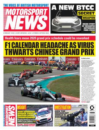 Motorsport News 19 February 2020