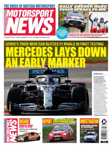 Motorsport News February 26, 2020 00:00