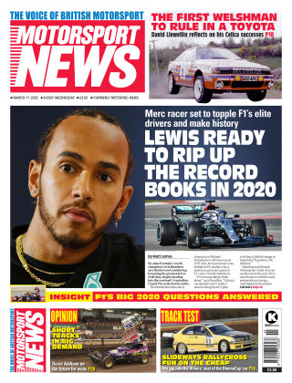 Motorsport News 11 MARCH 2020