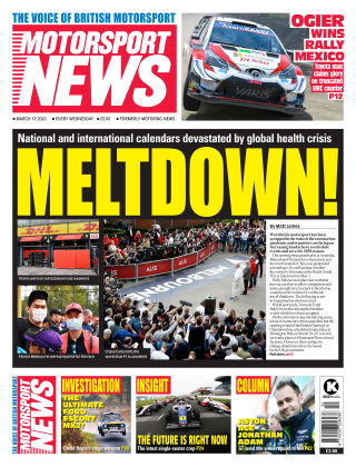 Motorsport News 18 March 2020