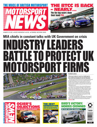 Motorsport News 25 March 2020