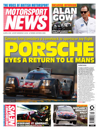 Motorsport News 8 April 2020
