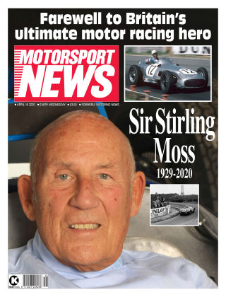 Motorsport News 15 April 2020
