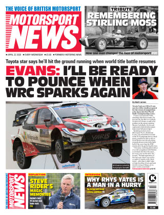 Motorsport News 22 April 2020