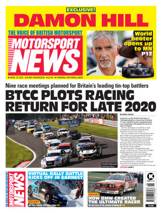 Motorsport News 29 April 2020
