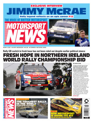 Motorsport News 6 May