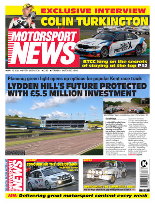 Motorsport News 13 May 2020
