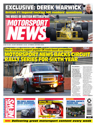 Motorsport News 20 May 2020