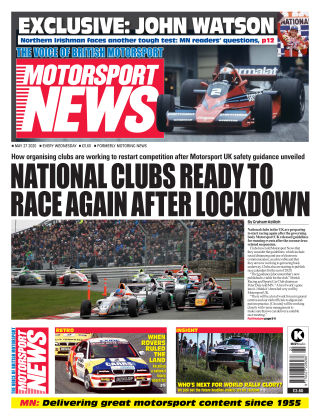 Motorsport News 27 May 2020