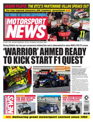 Motorsport News 3/6/20
