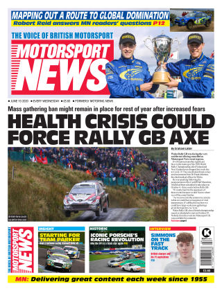 Motorsport News 10 June 2020
