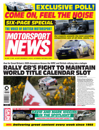 Motorsport News 17 June