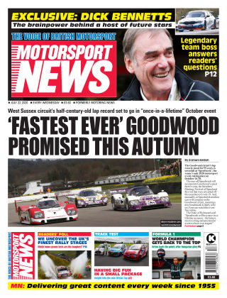 Motorsport News 22 July 2020