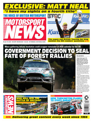 Motorsport News 30 July 2020