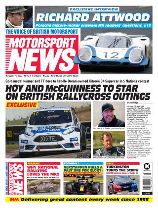 Motorsport News 13 August 2020
