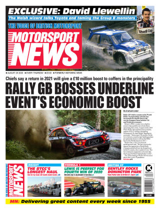 Motorsport News 20 August 2020