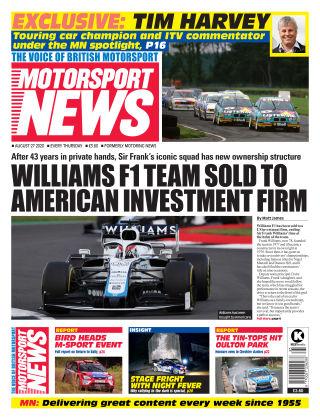 Motorsport News 27 August 2020