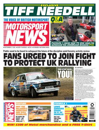 Motorsport News 17 September 2020