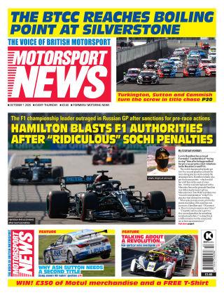 Motorsport News 1 October 2020
