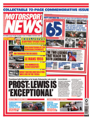 Motorsport News 29 October 2020