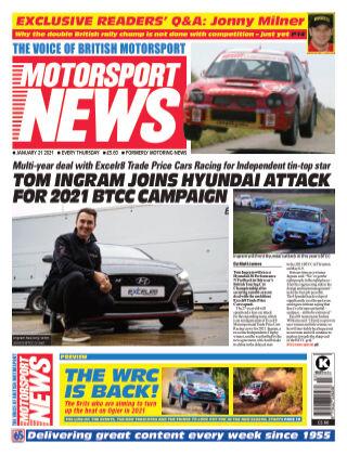 Motorsport News 21 January 2021