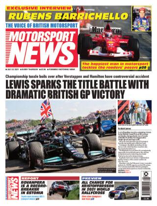 Motorsport News 22 July 2021