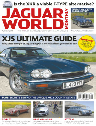Jaguar World Monthly August 2013