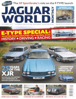 Jaguar World Monthly September 2013
