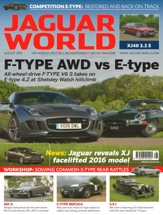 Jaguar World Monthly August 2015