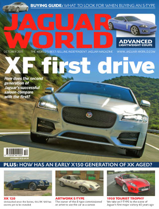 Jaguar World Monthly XF first drive