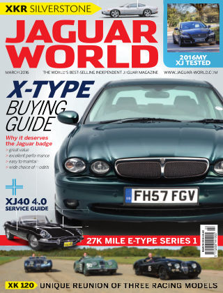 Jaguar World Monthly X Type Buying Guide