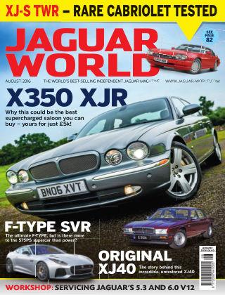Jaguar World Monthly August 2016