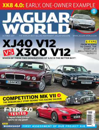 Jaguar World Monthly October