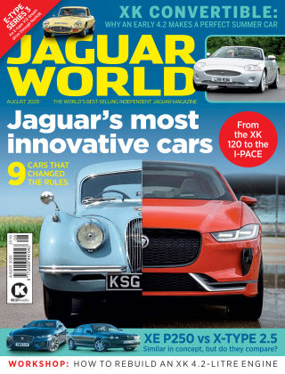 Jaguar World Monthly August 2020