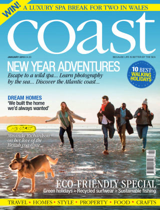 Coast Magazine New Year Adventures